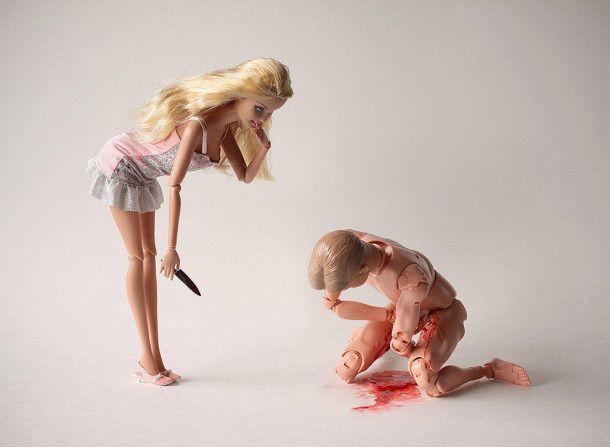 Barbie Kills A Unusual Unique Photo Project by Mariel Clayton