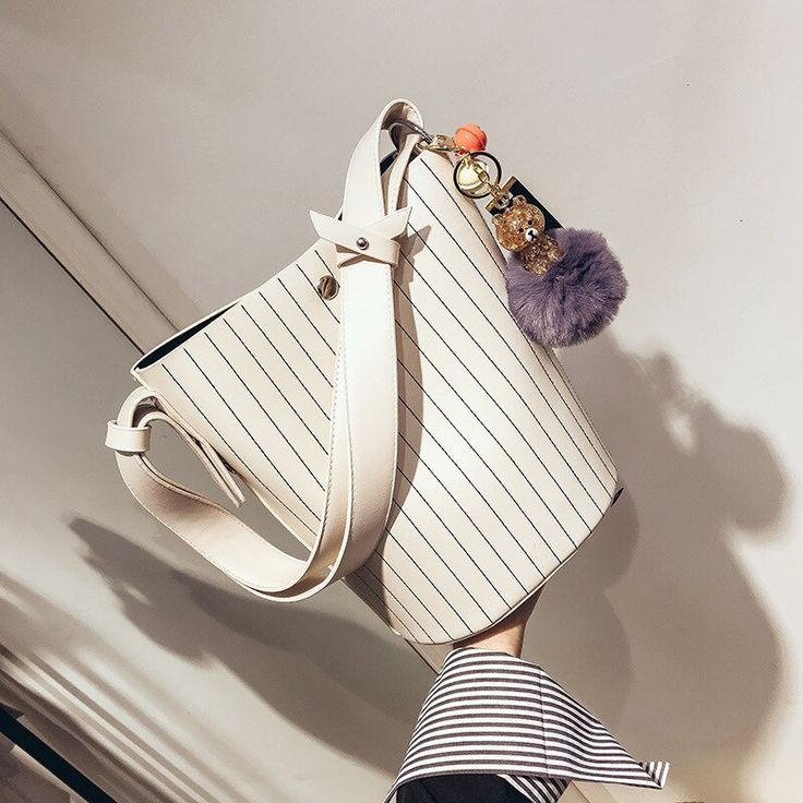 Bolso de hombro de mujer de diseño Bolsos de cubo de gran capacidad Bolsos de cuero de PU de calidad Bolso compuesto Bolsa Feminina