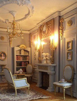 122 best images about a 1 12 scale miniature french room box ideas on pinterest french. Black Bedroom Furniture Sets. Home Design Ideas