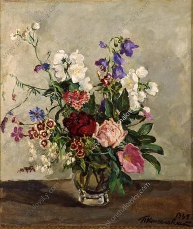Pyotr Konchalovsky (Russian, 1876-1956): Still Life. The Dutch bouquet, 1935