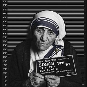 Mother Teresa Mug Shot Original