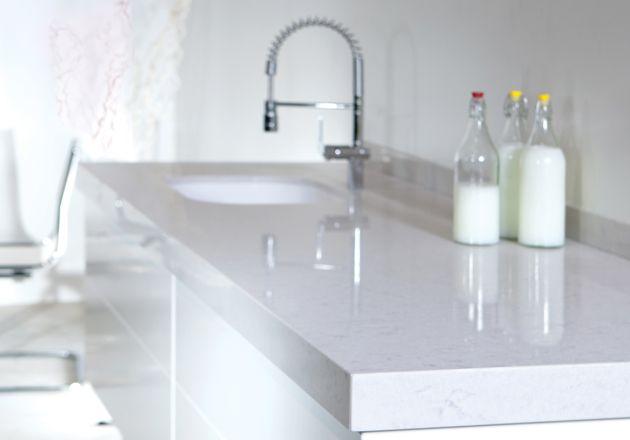 www.silestone.co.uk Quartz worktops and sinks