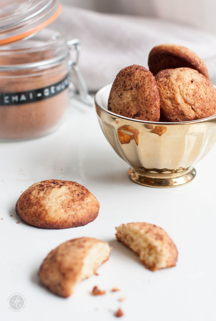 Chai-Honig-Cookies Rezept von feiertäglich. Ein turboschnelles und einfaches Rezept für die Weihnachtsbäckerei!