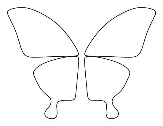 Best 25+ Butterfly wing pattern ideas on Pinterest Butterfly - butterfly template