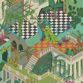 Miami 105/4017 - Geometric II - Cole & Son