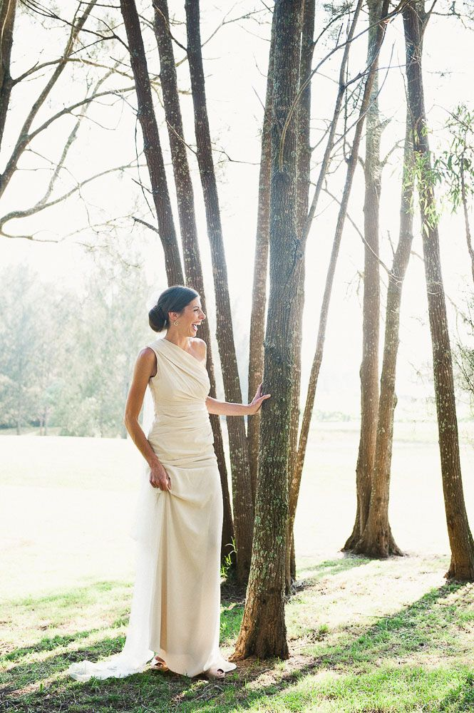 Stunning bride in natural light. Shot at Margan Wines, Hunter Valley