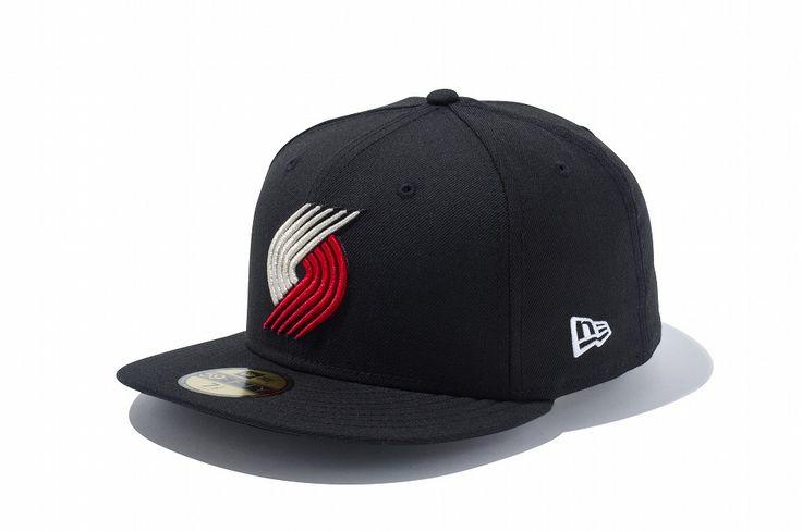 New Era Online Store (ニューエラ・オンラインストア)59FIFTY NBA ポートランド・トレイルブレイザーズ ブラック × チームカラー(7 (55.8cm)): 59FIFTY
