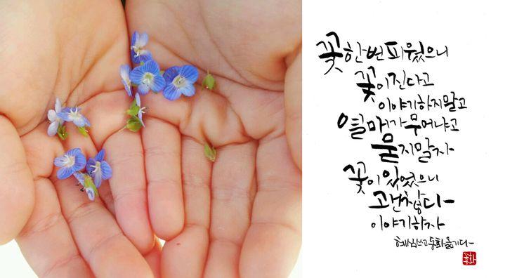 캘리그라피,캘리그래피,캘리엽서  Copyrightⓒ Cho-donghwa   email: ludeblue@naver.com facebook: www.facebook.com/donghwa1 blog: ludeblue.blog.me