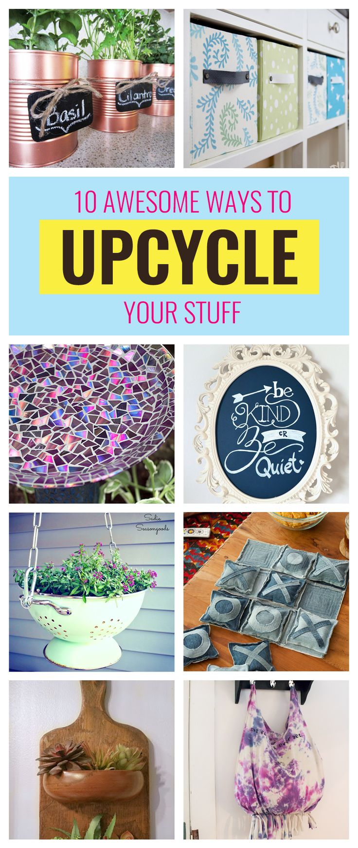10 Awesome Upcycle Ideas to Celebrate Earth Day