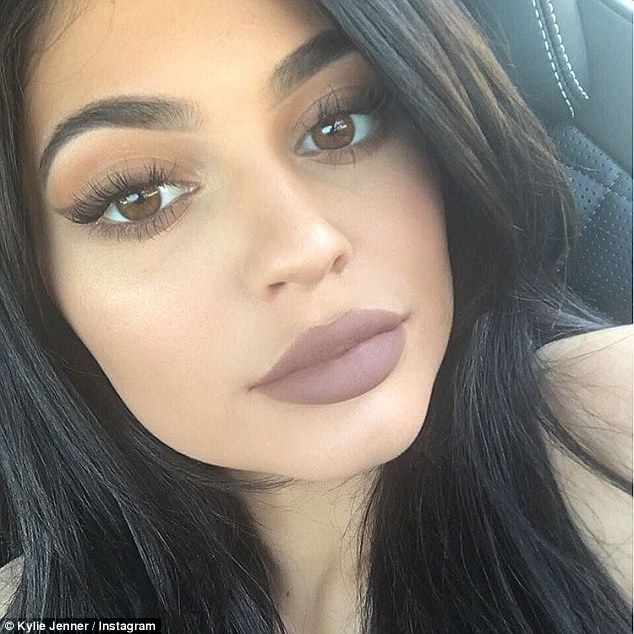 Perfect pout: Kylie Jenner's Lip Kits have been a huge sell-out, but it appears many cu
