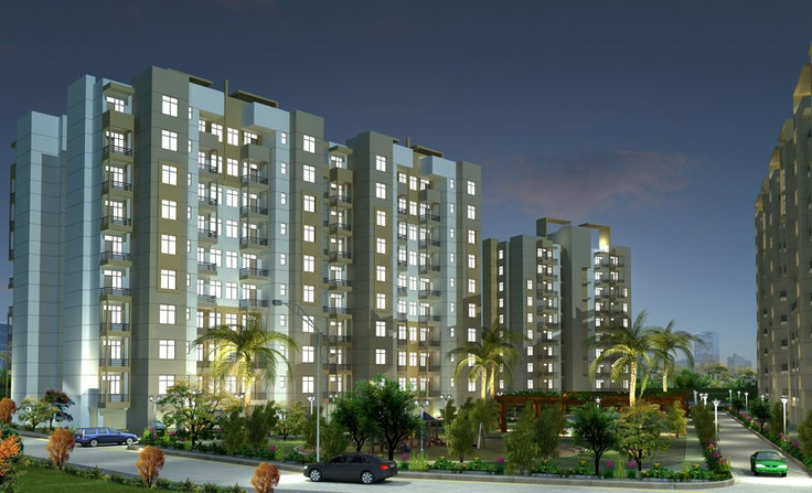 Carnation Residency - Tomorrow's lifestyle  at a premium address.