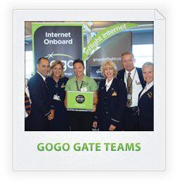 GOGO GATE REPRESENTATIVES