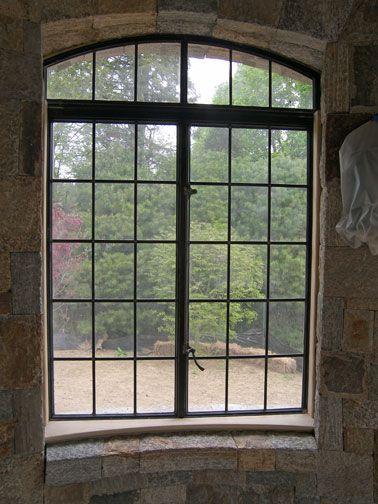 Best 25 metal windows ideas on pinterest exterior - Black metal french doors exterior ...