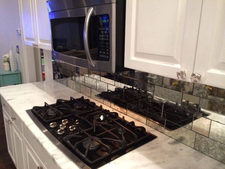 Antique Mirror Subway tiles for kitchen backsplash or walls. Custom cut to your desired size. Order a sample box today! We have over 10 choices of handmade antique mirror ready to ship!