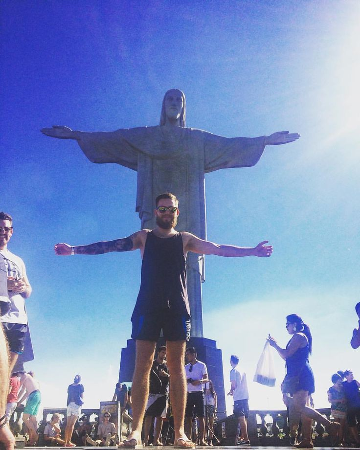 "60 Likes, 5 Comments - James_in_life_photos (@james_spencer_oliver) on Instagram: ""Team photo in Rio 🇧🇷 #rio #christtheredeemer #selfie #brazil #southamerica #poseing #lovinglife…"""