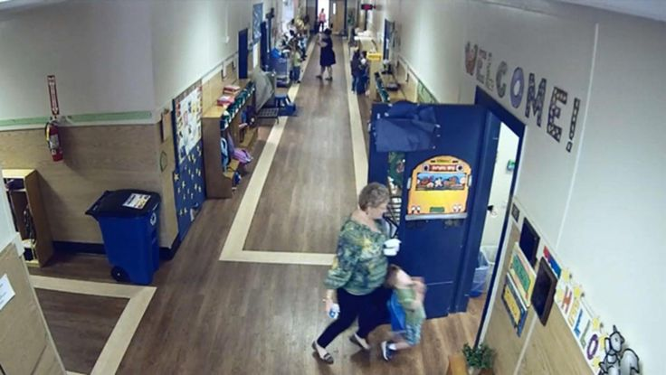 Video shows teacher knocking over special needs student