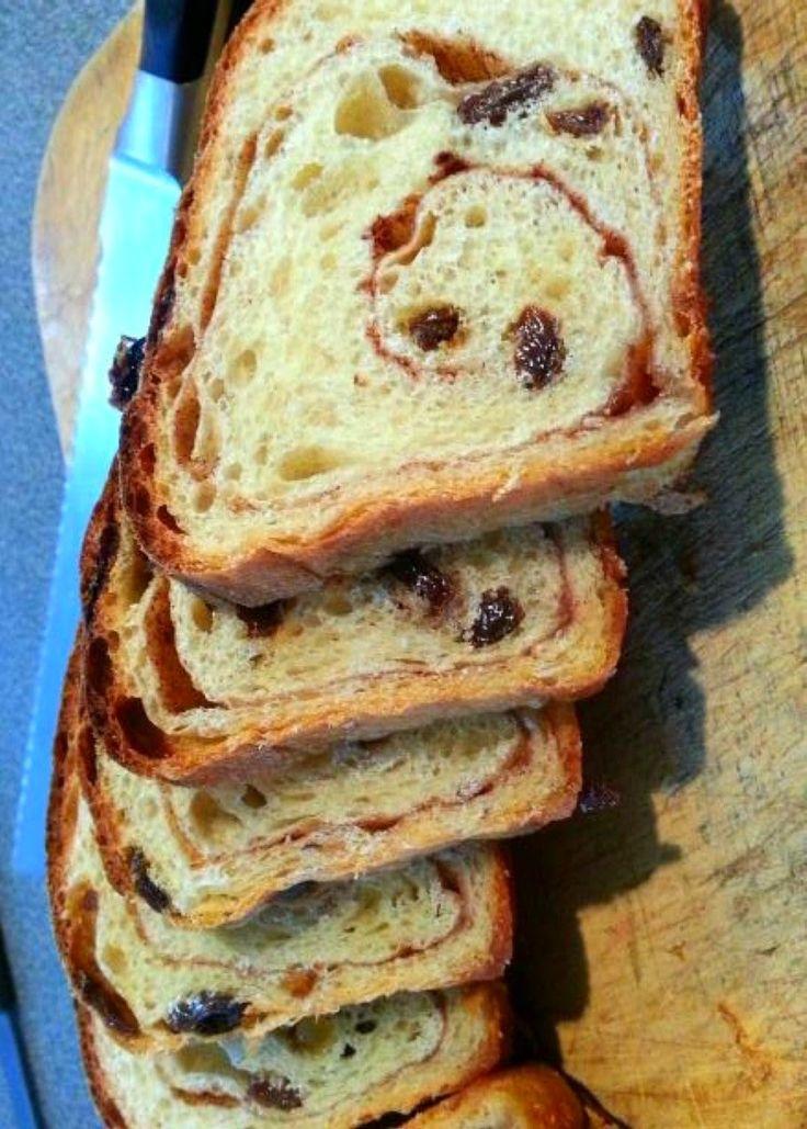 World's Best Cinnamon Raisin Bread (Not Bread Machine) ~ his is the best Cinnamon Raisin Bread I've ever had!