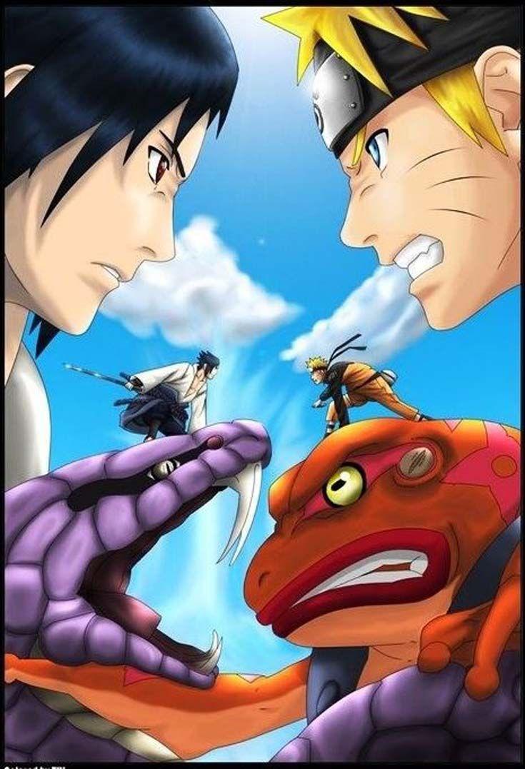Revange Entre Naruto E Itachi Com Imagens Naruto Vs Sasuke