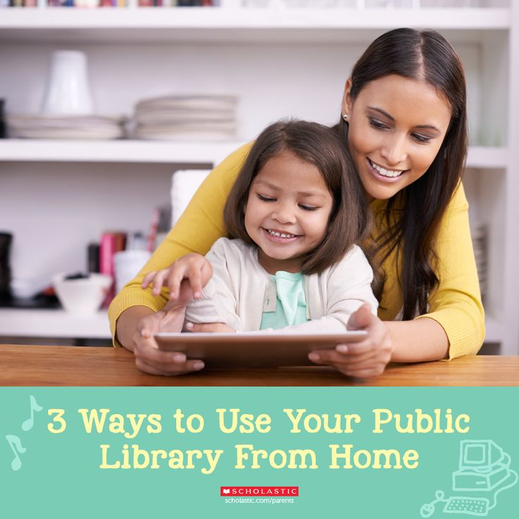 Your kids love exploring new books at the library -- but what else does your public library offer them from the comfort of home? Find out here.