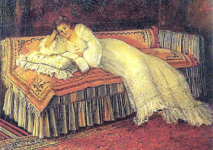 Müfide Kadri, Kitap Okuyan Kadın