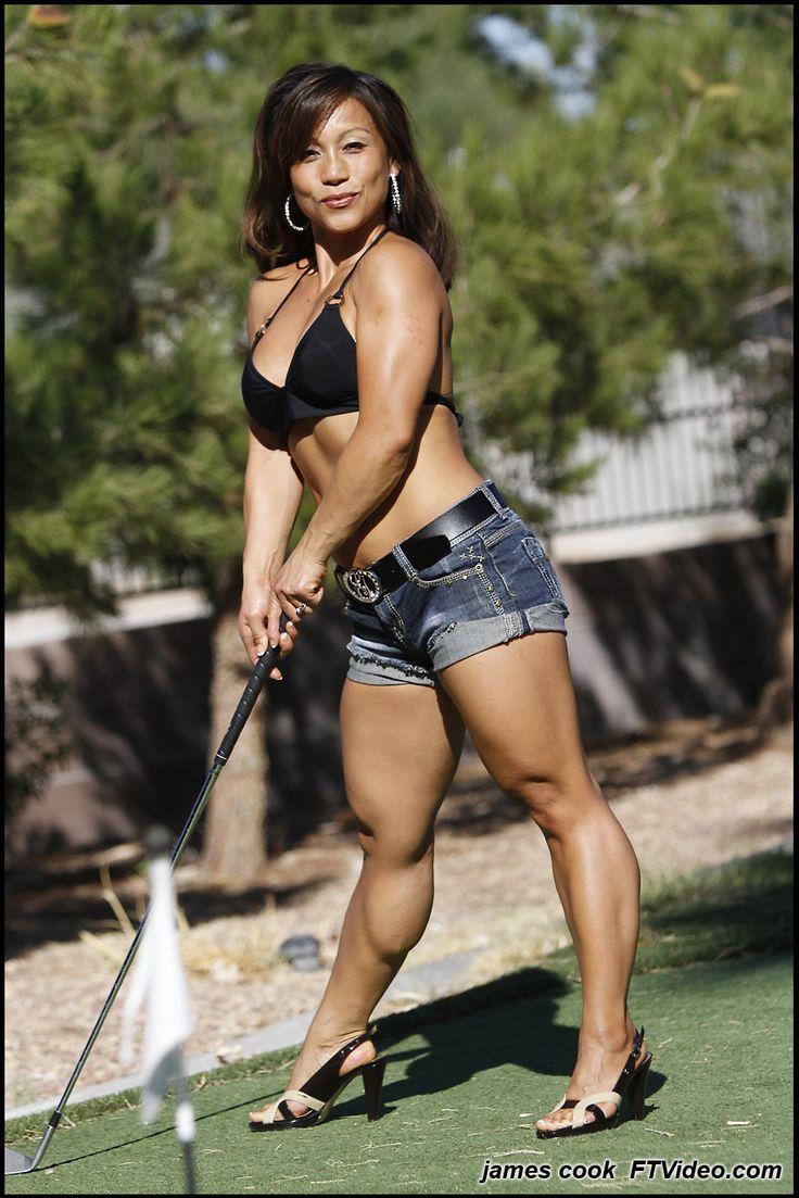 Fitasiangirls Sandy Vu And Her Lovely Legs  Muscular -9588