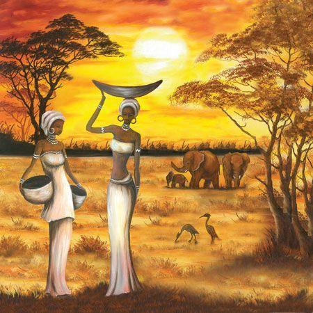 Afbeeldingsresultaat voor cuadros y laminalar africanas