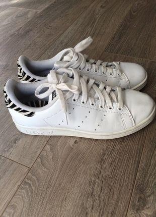 adidas stan smith blanche zebre