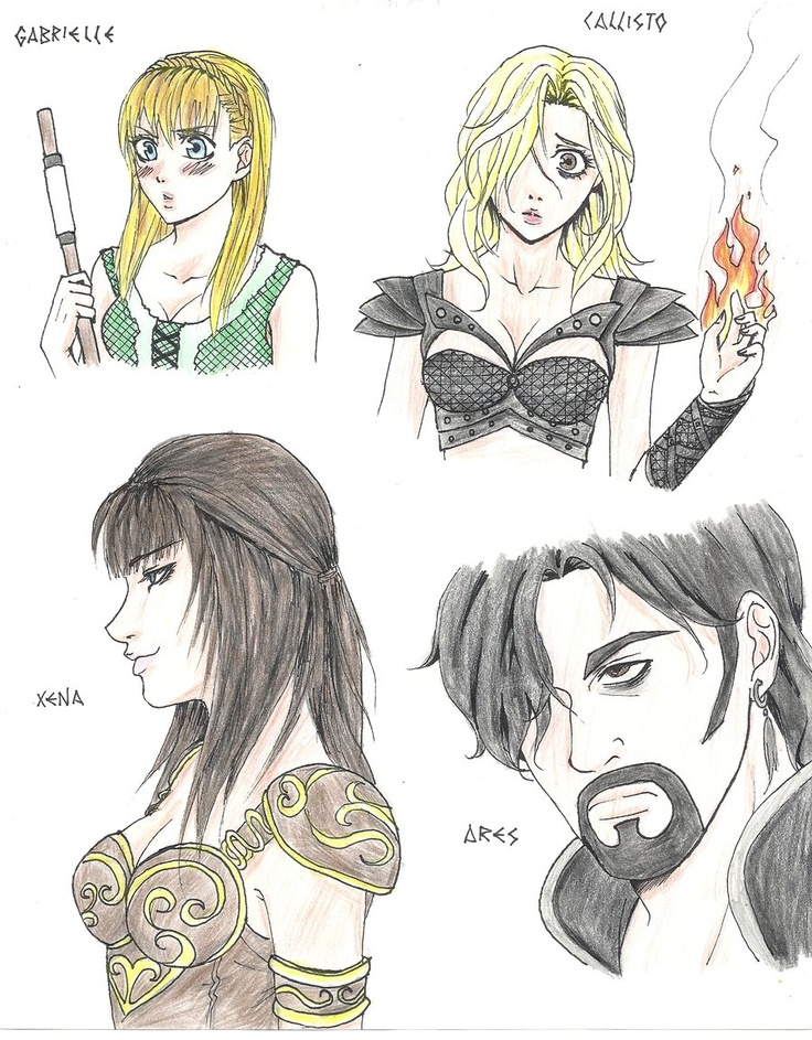 1000 images about xena warrior princess on pinterest Xena coloring book