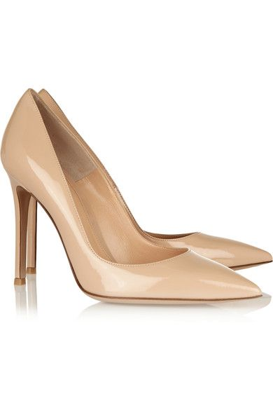 Gianvito Rossi - Patent-leather Pumps - Neutral