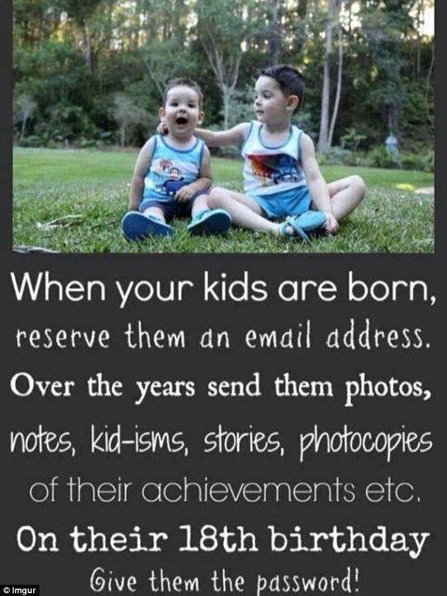 This is a great idea, and won't take much time at all. What a great way to chronicle your child's life!