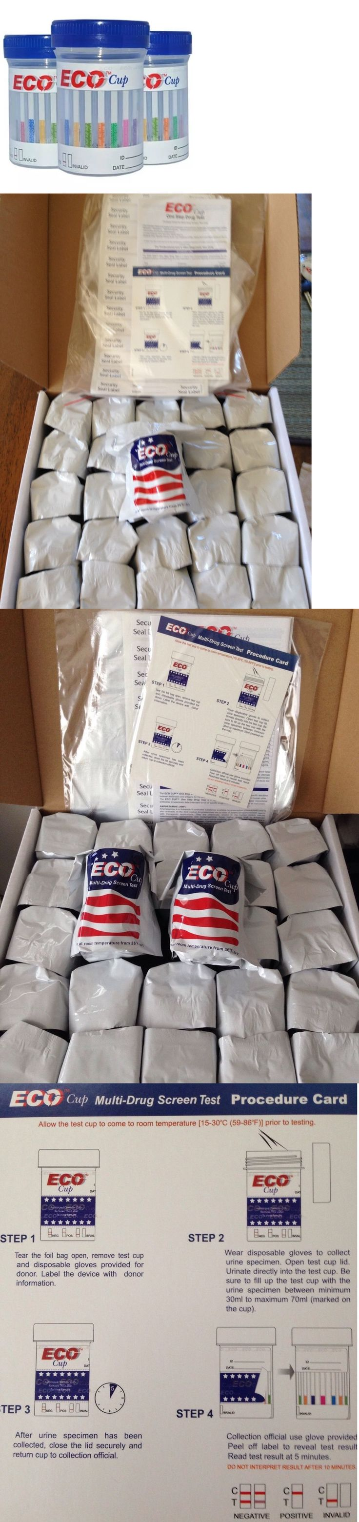 Drug Testing: 50 Cups- 5 Panel Eco Cup Multi Drug Test: Bzo/Coc/Mamp/Opi/Thc BUY IT NOW ONLY: $133.0