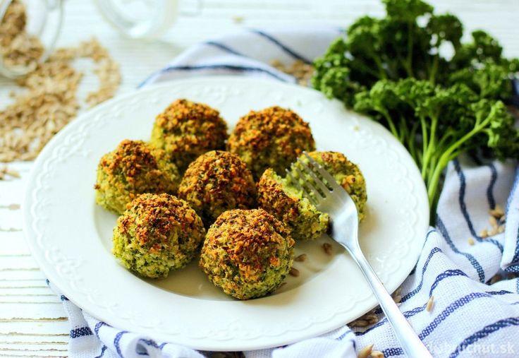 Brokolicovo-parmazánové guličky