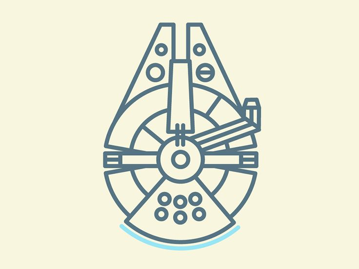 """millenium falcon"" by tim hobday."