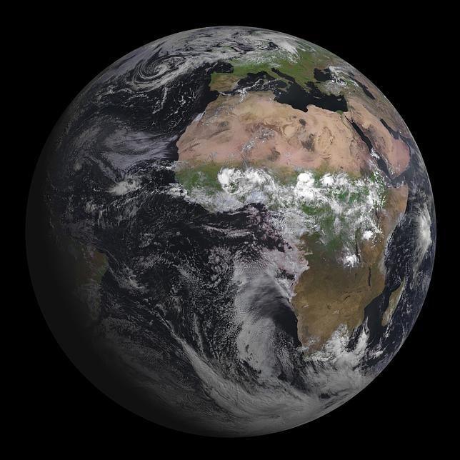 La primera y espectacular foto de la Tierra del nuevo Meteosat - ABC.es