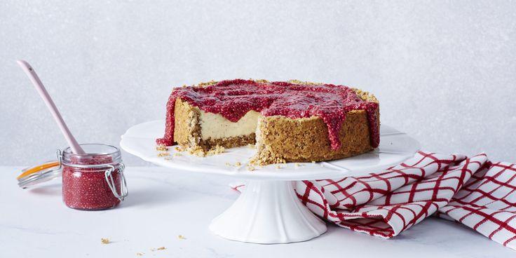 Bloody Good Cheesecake via @iquitsugar