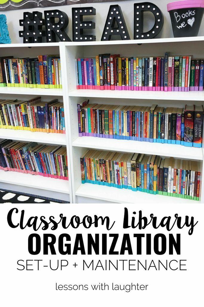 Classroom Organisation Ideas Uk ~ Best library organization ideas on pinterest class