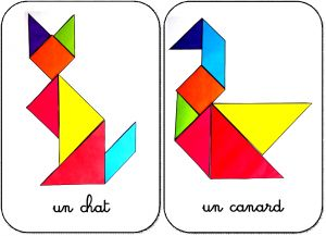 tangram maternelle animaux