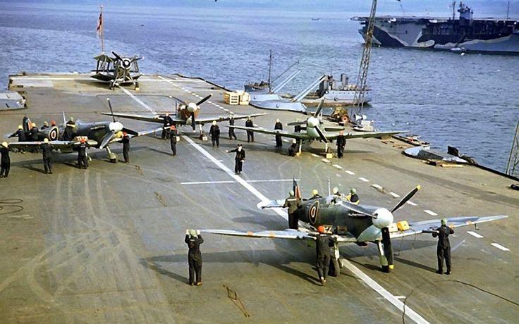 Supermarine Seafire's - World War 2