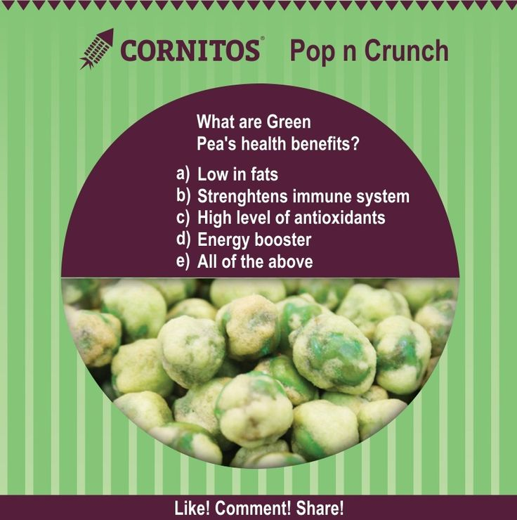 Health Benefits of Green Peas
