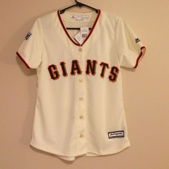 Women's SF Giants Jersey Hunter Pence - Brand new. Never worn. Purchased at the Dugout store at AT&T Park. Make me an offer!!! Retails for $115. Giants Tops