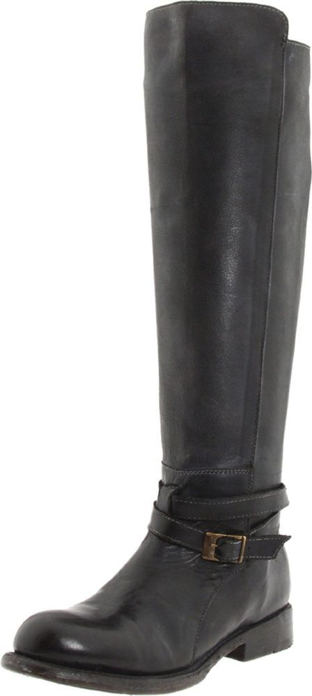 Motorcycle Riding Boots Bed Stu Women's Bristol ,Black Rustic,8.5 M US #BeD #Motorcycle