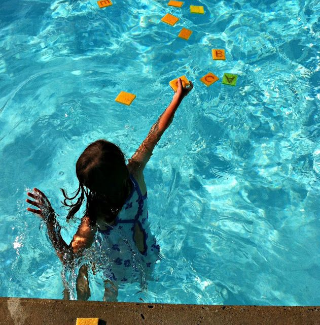 66 best images about water fun for kids on pinterest - Games to play in the swimming pool ...