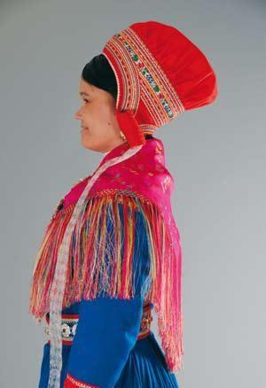 Enontekiö national costume - Enontekiön puku   Sami Duodji ry
