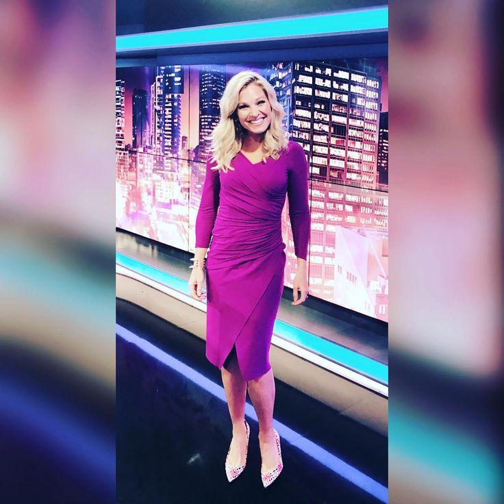 "Anna Kooiman (@annakooiman) on Instagram: ""Loved being on the #skynewsaustralia #primetime panel again! I also 💓this fuchsia dress. If you do…"""