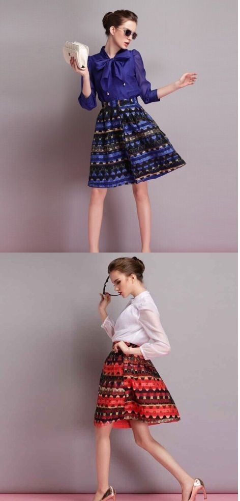 No les parece esta #falda ideal para ir a bailar #swing? Encuéntrala aquí.
