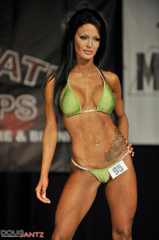 Bikini model competion patronymic surname