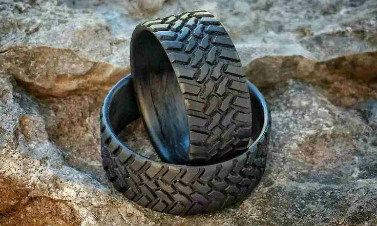 Carbon Fiber Tire Tread Rings.