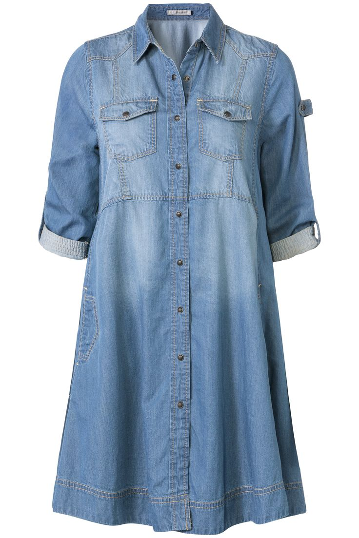 Glamping | Fall collection | Dress | Denim | Blue