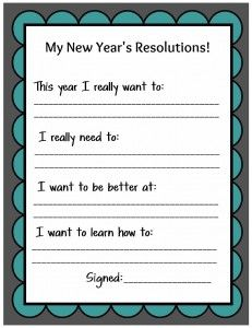 new year's resolutions - Uncommon Designs