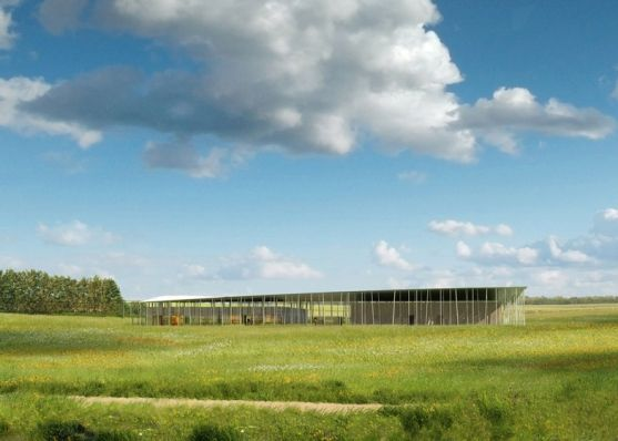 """Architecture: Stonehenge Visitor Centre by Denton Corker Marshall: """"..[Work has finally started on]Denton Corker Marshall'sdesign for a new visitor centre atStonehenge, a prehistoric stone circle in England..In 2009 the Australian architecture firm won a competition to replace existing facilities branded """"a national disgrace"""", but plans were ditched the following year by the incoming government..The design, which was the latest in a string of proposals dating back to 2003 for the World Herita: Stones Circles, Corker Marshalls S Design, Visitor Centre, Australian Architecture, Denton Corker, Architecture Details, At Stonehenge, Architecture Firm, Stonehenge Visitor"""